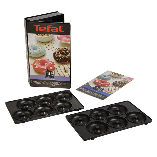 Tefal snack collection coffret n 11 donuts pour sw853d r f xa801112 boutique le - Gaufrier tefal snack collection ...