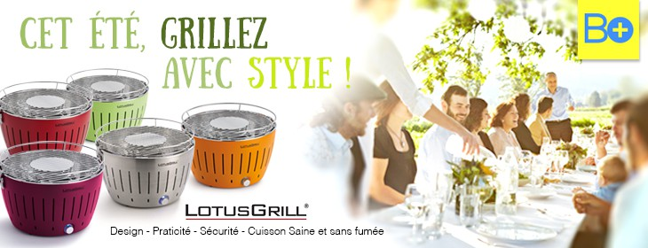Barbecues LotusGrill